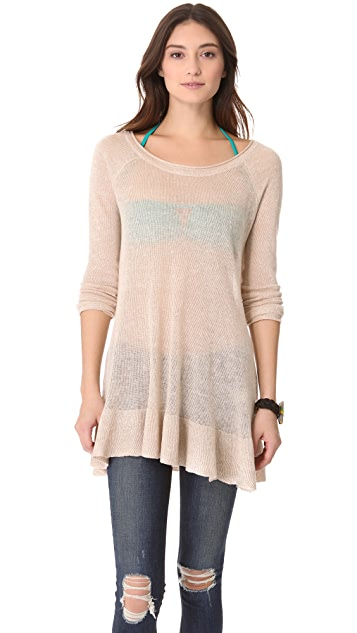 Free People Swing Time Sweater Tunic