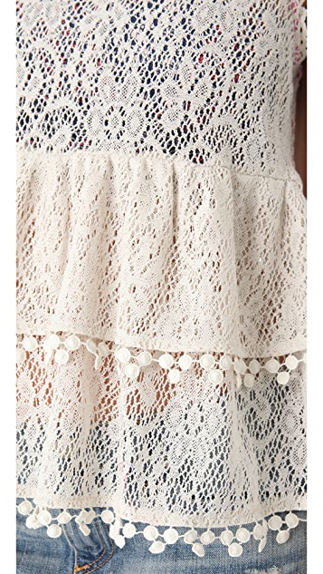 Free People Daydream Lace Tank