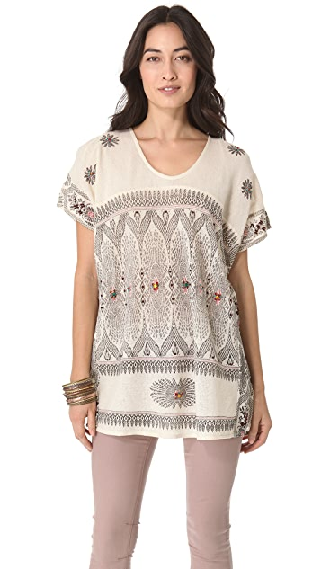 Free People Mesh Tunic