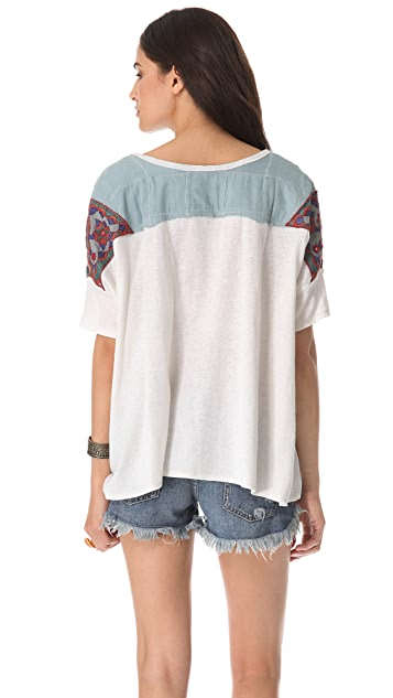 Free People Mexicali Henley Top
