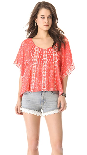 Free People Mix It Up Top