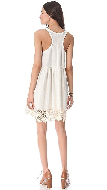Free People Linen Babydoll Dress
