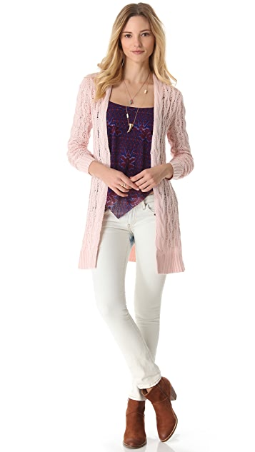 Free People Rip Tide Cardigan