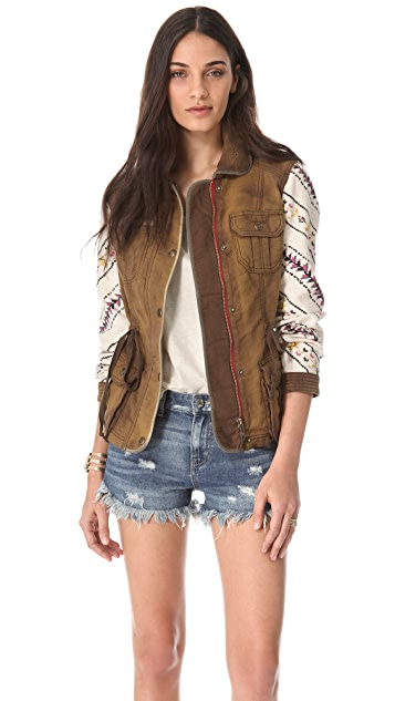 Free People Precious Cargo Jacket