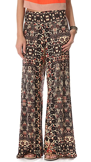 Free People Knit Wide Leg Pants