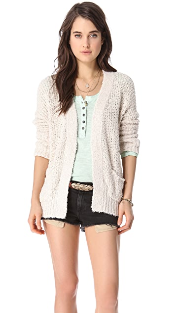 Free People Oh La La Cardigan