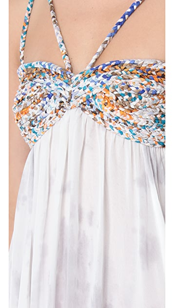 Free People Snake Goddess Maxi Dress