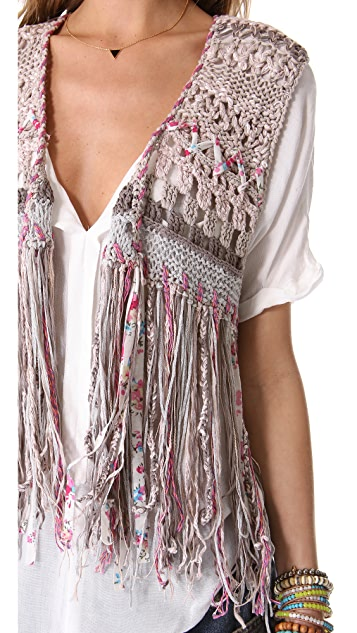Free People With Love Vest