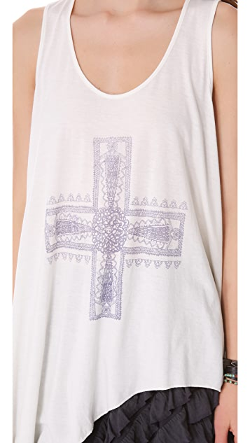 Free People Waterfall Tank