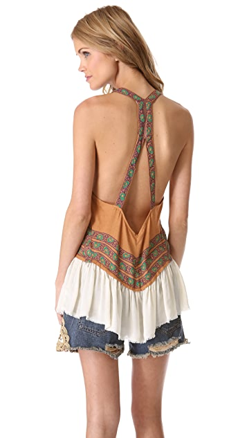 Free People Crossing the Border Tank