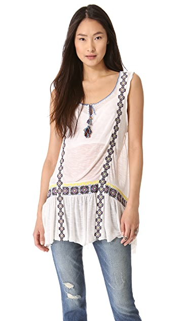 Free People Moonlight Mile Tunic