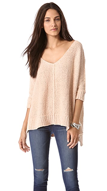 Free People Cozy Cat Pullover
