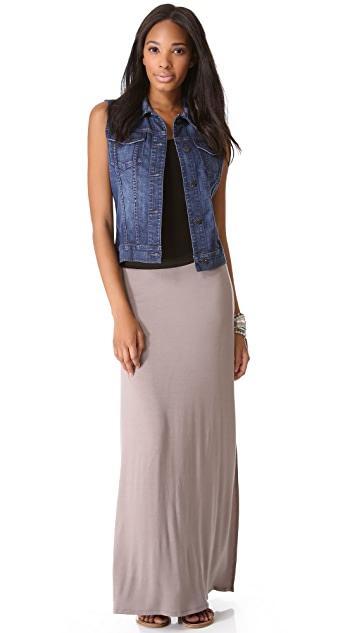 Free People Solid Sahaying Skirt