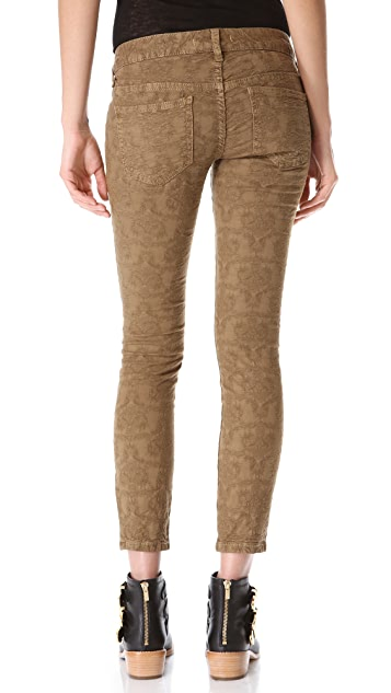 Free People Slim 5 Pocket Jeans