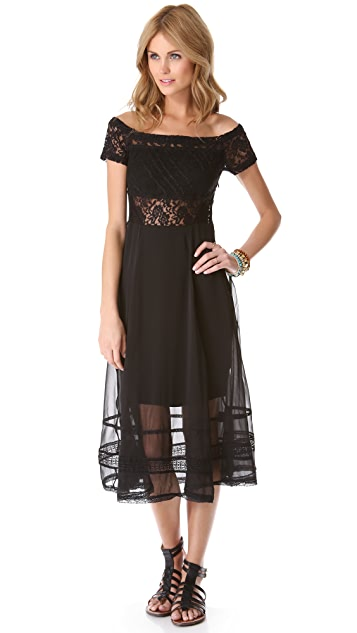 Free People Raven Dress