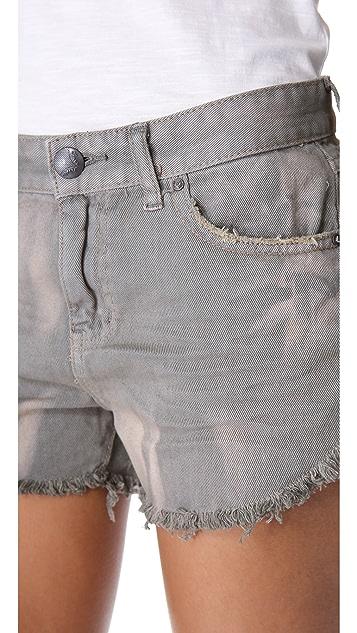 Free People Dolphin Hem Cutoff Shorts