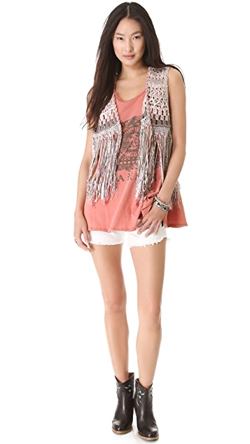 Free People Slumber Party Graphic Tee
