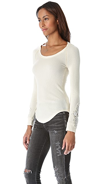 Free People Synergy Cuff Top