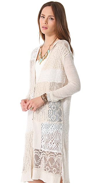 Free People Magic Dragon Cardigan