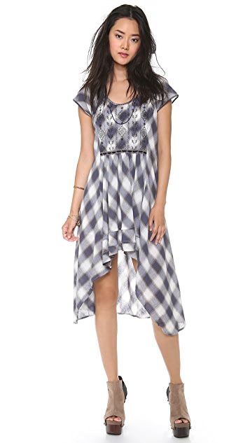 Free People Rad for Plaid Dress