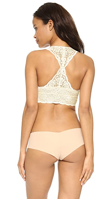 Free People Lace Racer Back Bra