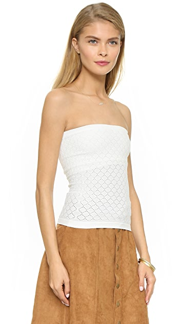43d0400015a8 ... Free People Seamless Diamond Textured Tube Top ...
