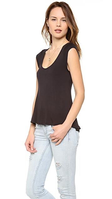 Free People Gatsby Fit & Flare Tee