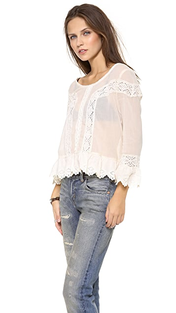 Free People Princess Gwendoline Top