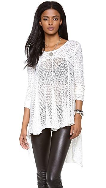 Free People Black Magic Top