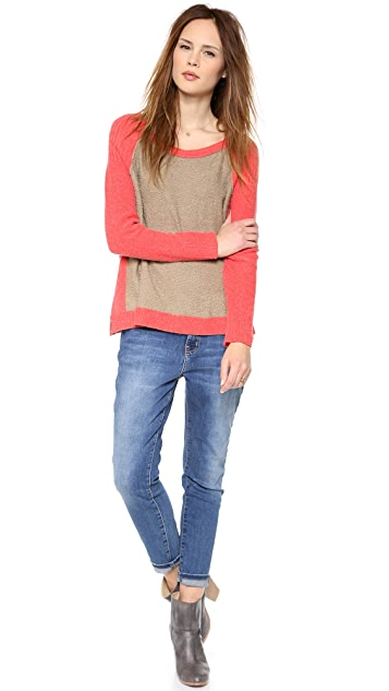 Free People Tabbard Pullover