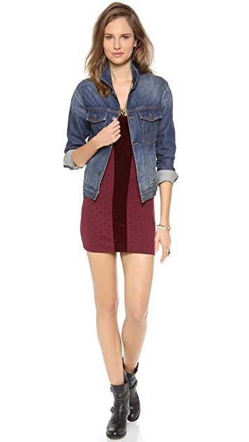 Free People Madeline Mini Dress
