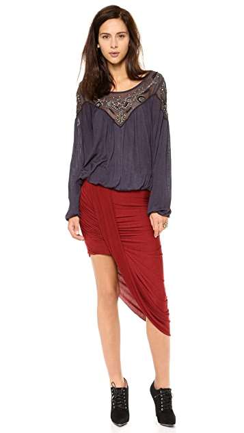 Free People Twist & Shout Skirt