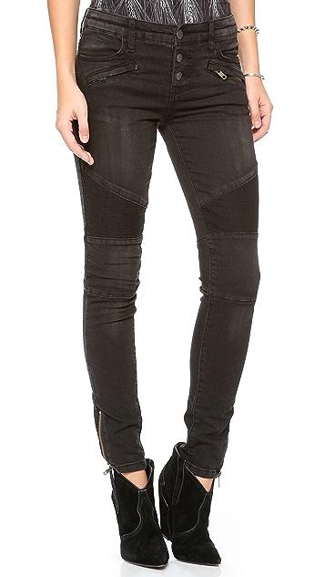 Free People Millenium Moto Jeans