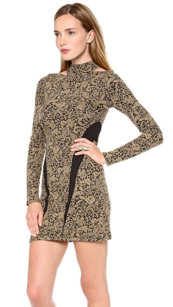 Free People Night Play Ginger Tunic Dress