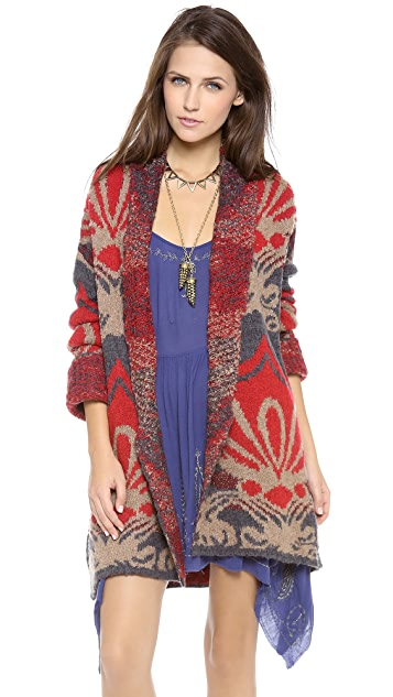 Free People Winters Day Cardigan