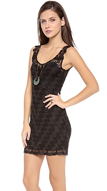 Free People Lace Bodycon Dress