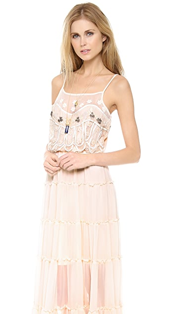 Free People Stardust Mesh Dress