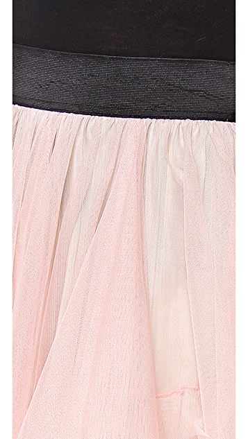Free People Solid Tutu Skirt