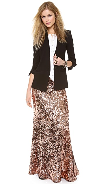 Free People Sequins for Miles Skirt