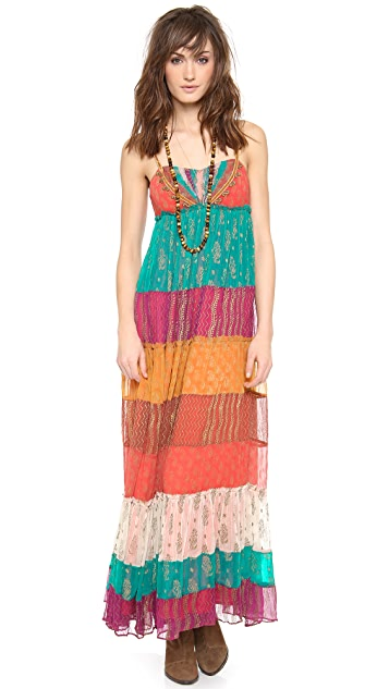 Free People Gilden Caravan Maxi Dress