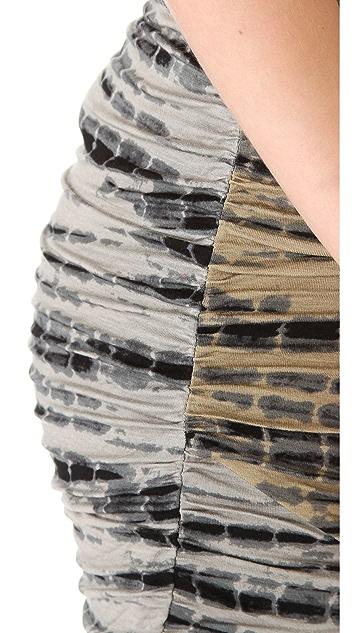 Free People Tie Dye Scrunch Skirt