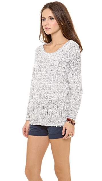 Free People Star Dune Marled Pullover
