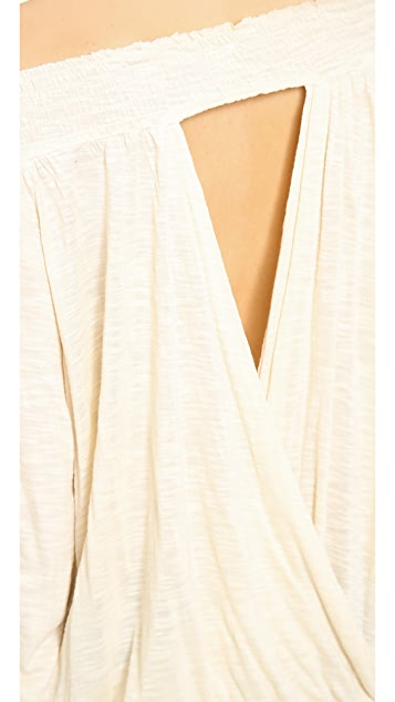 Free People Belair Banded Top
