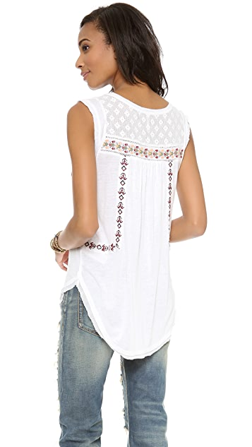 Free People Reckless Abandon Tee