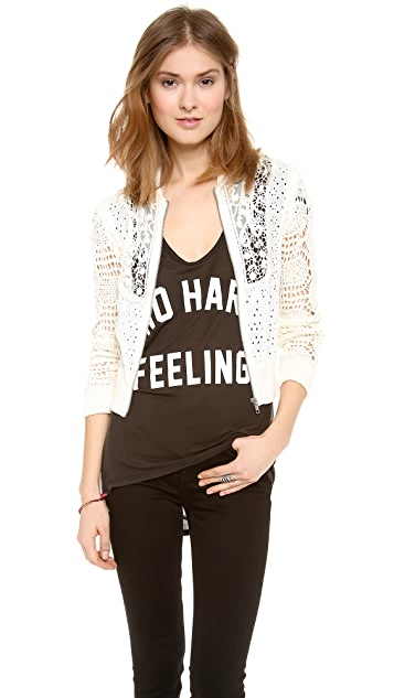 Free People Sun Storm Bomber Jacket