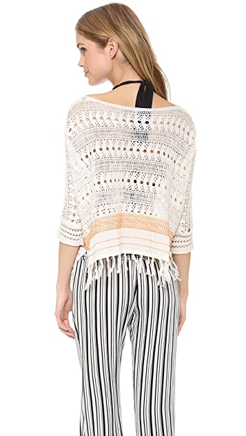 Free People Sweet Popover Sweater