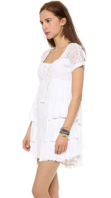 Free People Sunbeams Mini Dress
