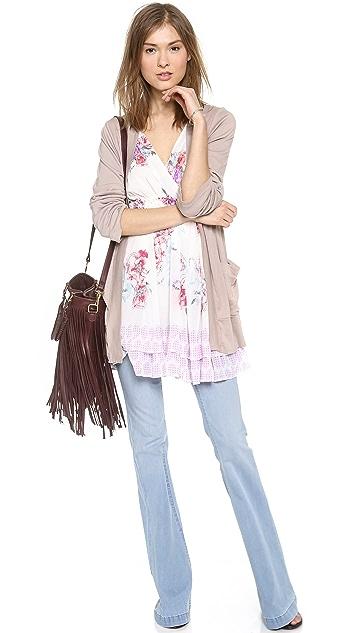 Free People Spring Fever Mini Dress