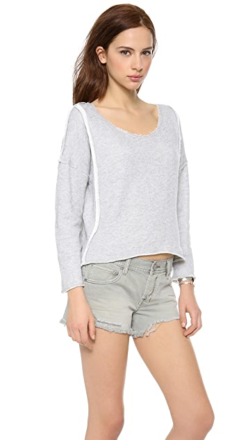 Free People Victorian Lace Pull Over
