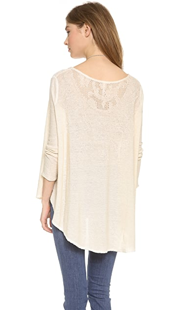 Free People Azaelea Circle Sweater